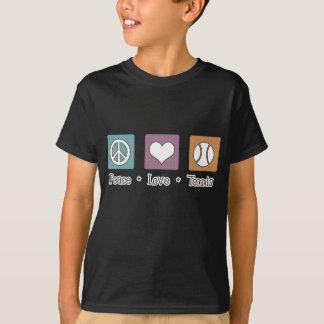 Camiseta Tênis do amor da paz