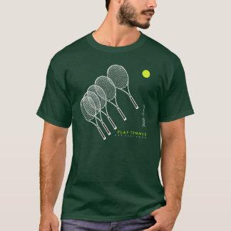 Camiseta tênis/tennist do jogo