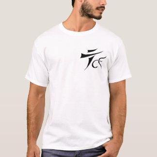 Camiseta Tenkara sobre - - voe o t-shirt básico do logotipo