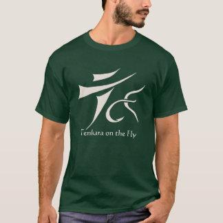 Camiseta Tenkara sobre - - voe o t-shirt escuro