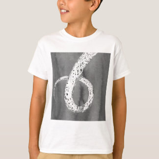 Camiseta Tentáculo preto e branco