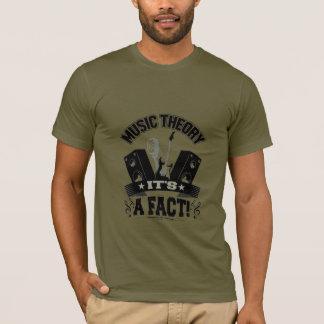 Camiseta Teoria da música é um fato!