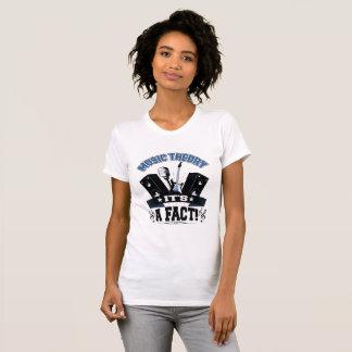 Camiseta Teoria da música… é um fato!