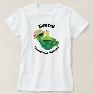 Camiseta Terapeuta ocupacional aposentado (tartaruga)