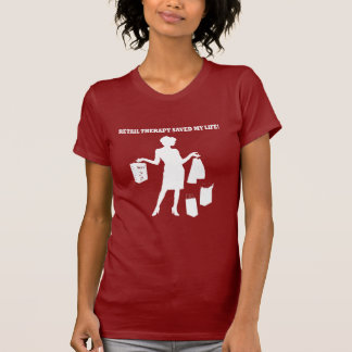 Camiseta terapia de varejo