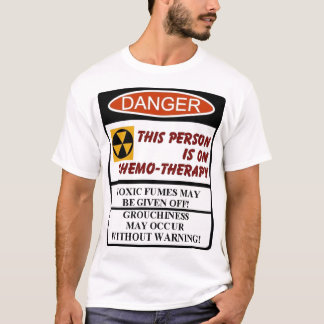 Camiseta terapia do chemo
