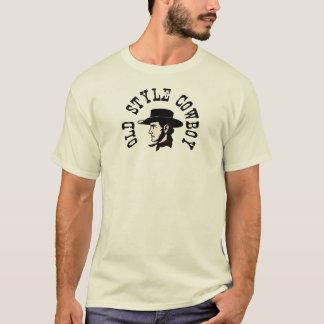Camiseta Termine com chapéu negro: Vaqueiro do estilo