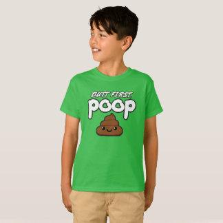 Camiseta Termine o primeiro t-shirt dos miúdos do