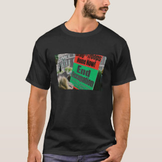 Camiseta termine o sinal da ocupação