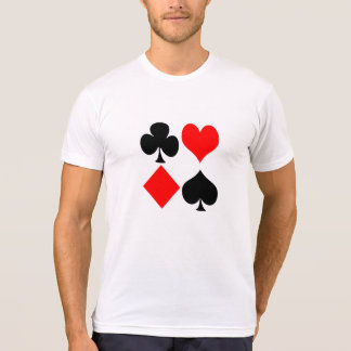 Camiseta Ternos do cartão