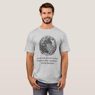 Camiseta Terra 12 - Ame a terra porque você amaria…