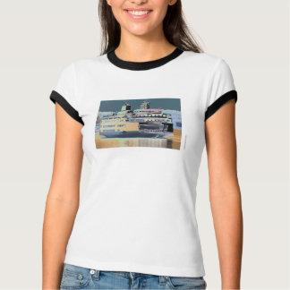 Camiseta terra da balsa da ilha | de San Juan da balsa do