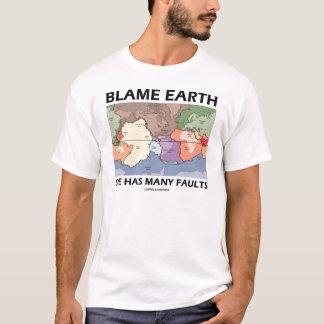 Camiseta Terra da culpa tem muitas falhas
