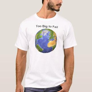 Camiseta Terra - demasiado grande a falhar