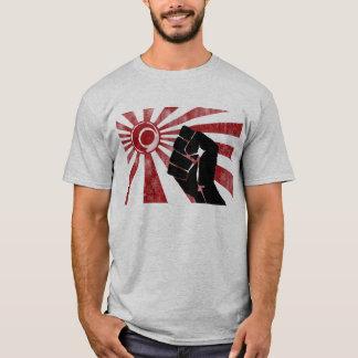 Camiseta Terra do punho da ascensão