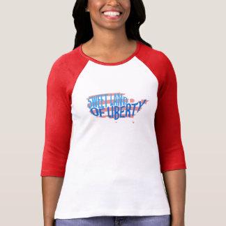 Camiseta Terra doce do t-shirt patriótico de América da