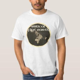 Camiseta Terra lisa bíblica