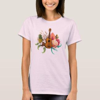 Camiseta Terra & mar do Ukulele