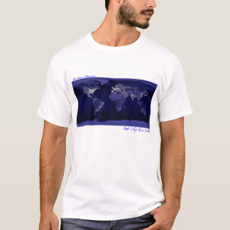Camiseta Terra na noite
