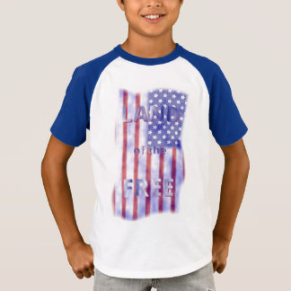 Camiseta Terra patriótica dos meninos livres da bandeira