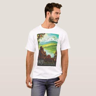 Camiseta Terra - seus oásis no espaço