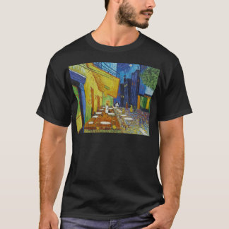 Camiseta Terraço do café na noite por Vincent van Gogh