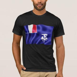 Camiseta Terras antárcticas do sul francesas - acenando