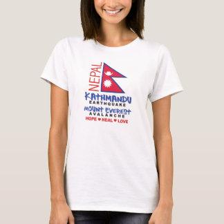 Camiseta Terremoto de Nepal