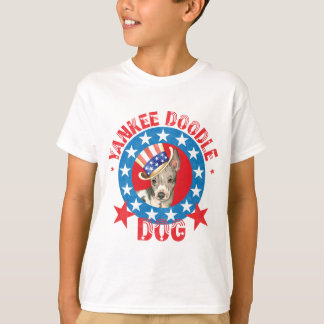 Camiseta Terrier calvo americano patriótico