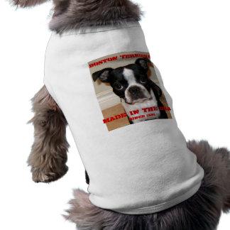 Camiseta Terrier de Boston