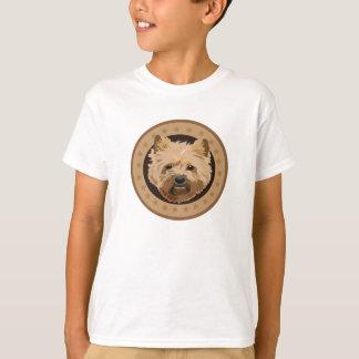Camiseta Terrier de monte de pedras do cão