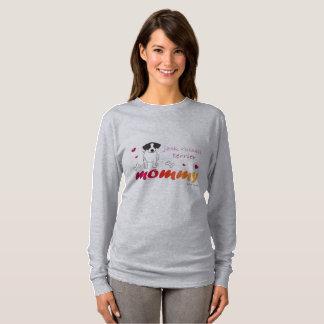 Camiseta terrier de russell do jaque