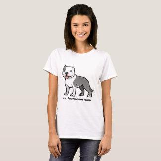 Camiseta terrier de Staffordshire americano