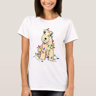 Camiseta Terrier Wheaten brandamente revestido - Natal