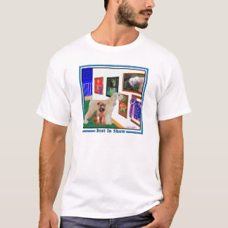 Camiseta Terrier Wheaten: Melhor na mostra (BIS)