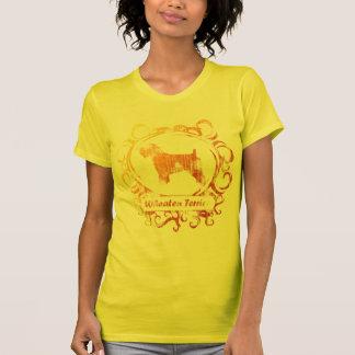 Camiseta Terrier Wheaten resistido elegante