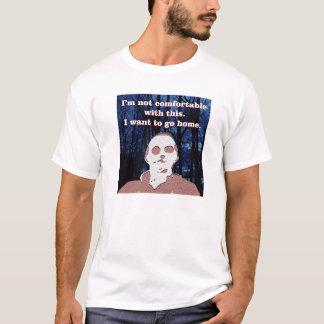 Camiseta Terry o Meerkat - eu não sou confortável com este
