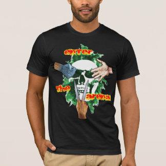 Camiseta Tesouras de papel da rocha - GUERREIRO do MUNDO