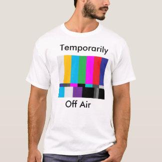 Camiseta teste a tela, temporariamente, fora do ar