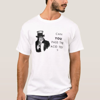 Camiseta Teste ácido