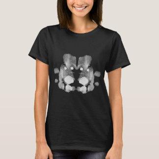 Camiseta Teste da mancha de tinta de Rorschach. Não me