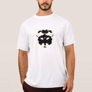 Camiseta Teste de Rorschach de um cartão da mancha da tinta
