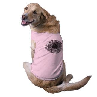 Camiseta Teste padrão 1203 da matemática - roupa do animal