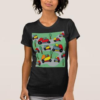 Camiseta Teste padrão 2 dos carros do brinquedo