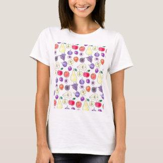 Camiseta Teste padrão da fruta