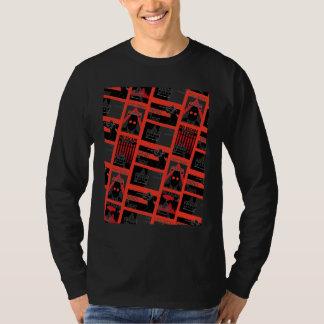 Camiseta Teste padrão da propaganda da cidade de Arkham
