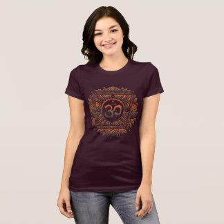 Camiseta Teste padrão de Aum (OM)