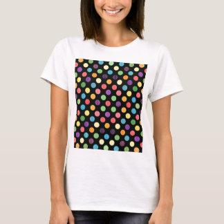 Camiseta Teste padrão de pontos bonito IX