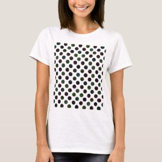 Camiseta Teste padrão de pontos bonito XIII