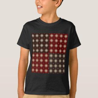 Camiseta Teste padrão decorativo